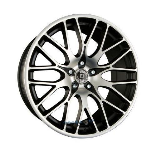 Diewe wheels fina nero machined - schwarz matt frontpoliert einteilig 9.00 x 18 et 35