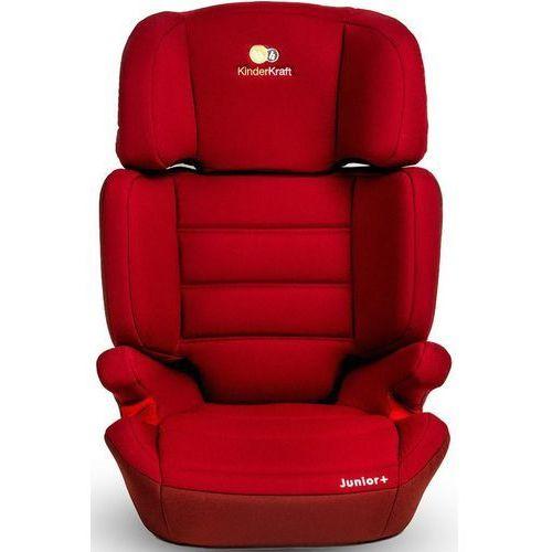 Kinderkraft Fotelik samochodowy junior plus czerwony