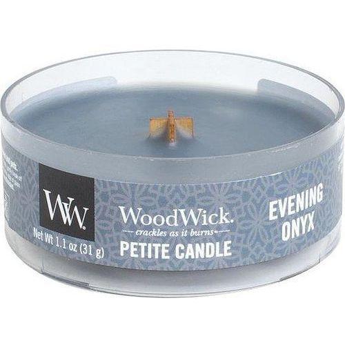 Woodwick Świeca petite evening onyx