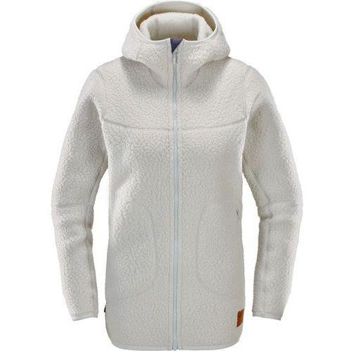 Haglöfs pile kurtka kobiety beżowy s 2018 kurtki polarowe