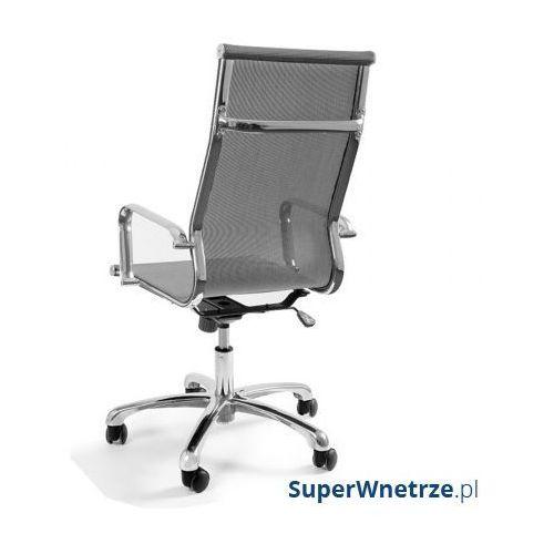 Krzesło obrotowe Unique Drafty szare