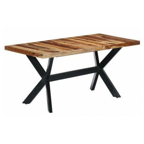 Elior Brązowy stół z drewna sheesham – kalis 4x