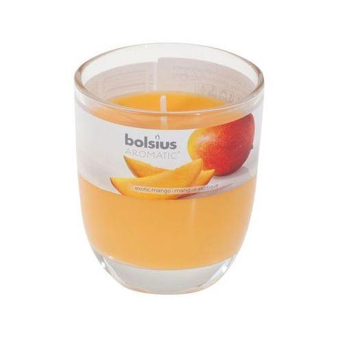 Świeca zapachowa w szkle aromatic mango marki Bolsius