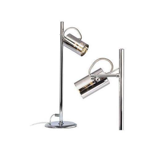 Redlux Stojąca lampa stołowa bugsy r10519  regulowana lampka biurkowa reflektorek chrom