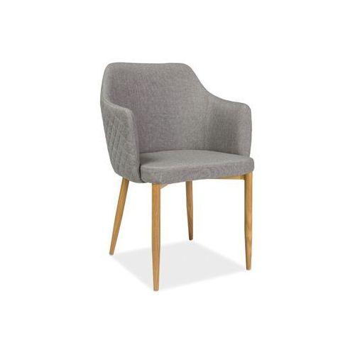 Krzesło metalowe SIGNAL ASTOR szary