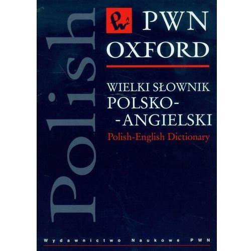 Wielki słownik polsko-angielski PWN Oxford z płytą CD (ilość stron 1428)