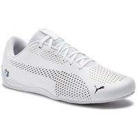 Sneakersy PUMA - BMW MMS Drift Cat Ultra 5 II 306421 02 Puma White/Puma White, kolor biały