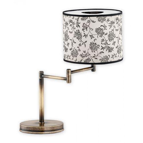 Sella lampka stołowa na przegubie 1 pł. / patyna, Dodaj produkt do koszyka i uzyskaj rabat -10% taniej!, O1818 L1 PAT