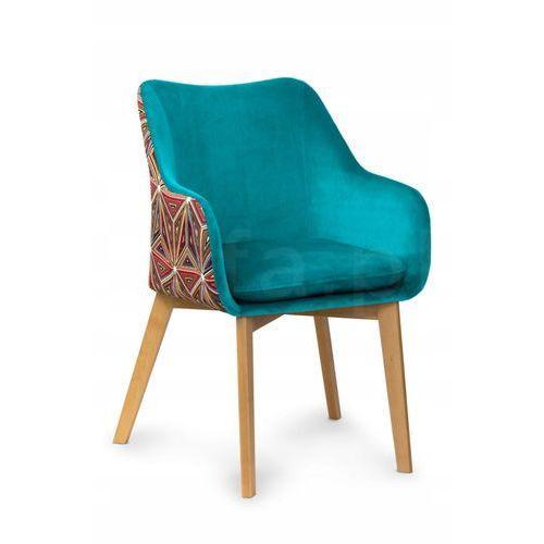 """Krzesło """"KANVAS"""" turkusowe:"""