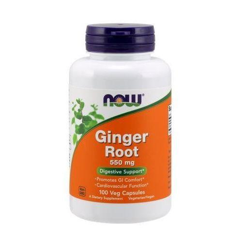 Kapsułki Ginger Root (Imbir - Korzeń) 550mg 100 kaps.
