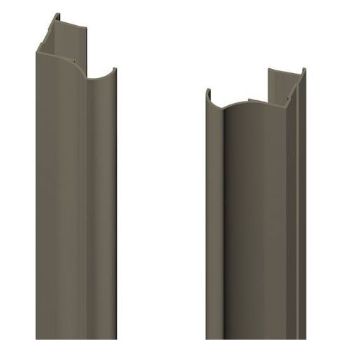 Rączka 18 mm Valcomp anoda oliwka 2700 mm (5905518215470)