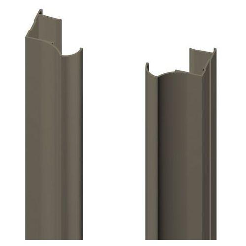 Valcomp Rączka 18 mm anoda oliwka 2700 mm (5905518215470)