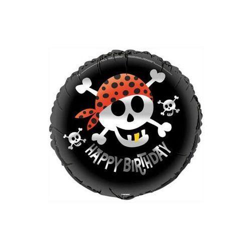 Balon foliowy urodzinowy piraci - 47 cm marki Unique