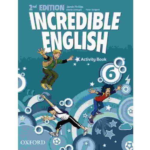 Incredible English 6 SP Ćwiczenia 2E. Język angielski (104 str.)