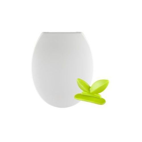 Deska WC wypinana biała + happy wings Corsan DS-01S (5901549967401)