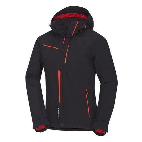 męska kurtka narciarska demetrius czarny/pomarańczowy xl marki Northfinder