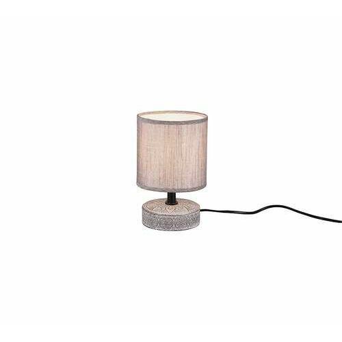 Trio RL Marie R50980126 lampa stołowa lampka 1x28W E14 brązowa/brązowa (4017807456721)