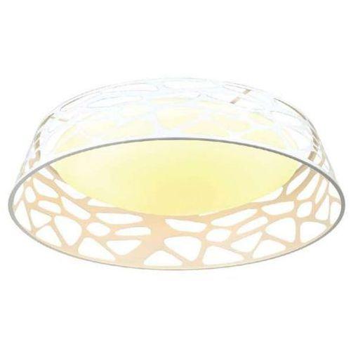 Plafon LAMPA sufitowa FORINA BIANCO PL Orlicki Design okrągła OPRAWA natynkowa LED 48W z wycięciami biała (1000000470703)