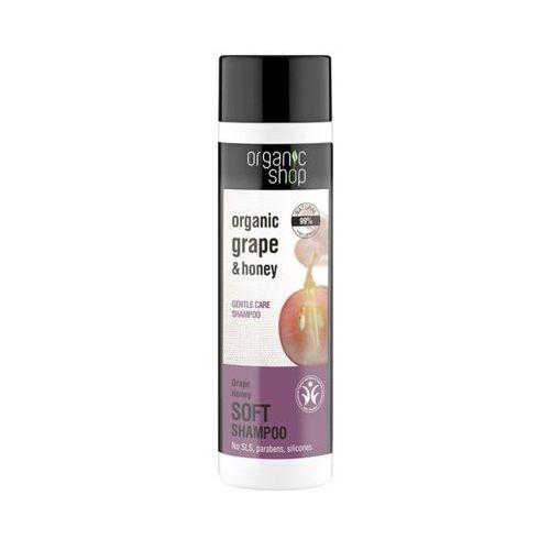 ORGANIC SHOP 280ml Winogrona i miód Delikatnie pielęgnujący szampon do włosów