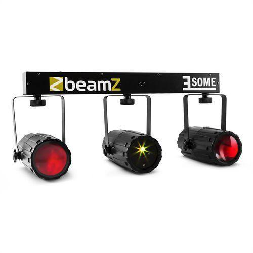 BeamZ 3-Some zestaw świetlny RGBW-LED multipoint laser mikrofon z kategorii Zestawy i sprzęt DJ