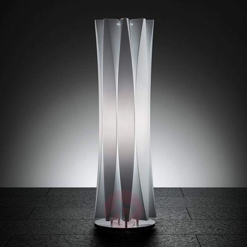 Gustowna lampa stołowa bach, wys. 73 cm, biała marki Slamp