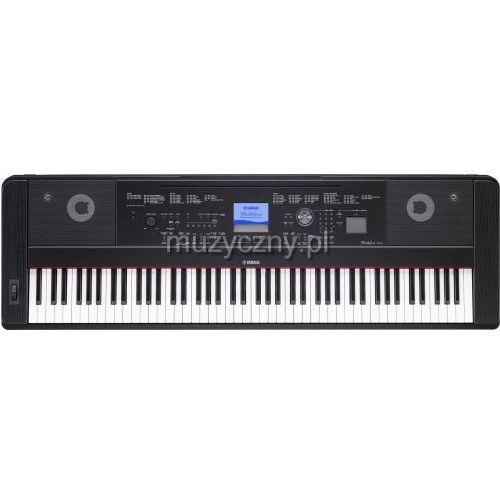Yamaha DGX 660 B keyboard z ważoną klawiaturą (88 klawiszy), czarny - sprawdź w wybranym sklepie