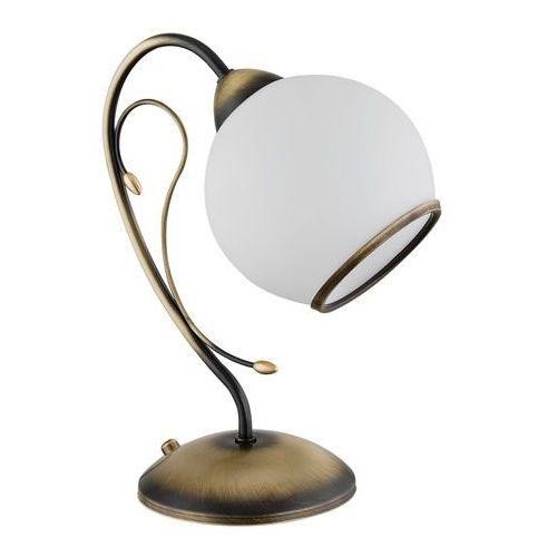 Lemir Mitra lampa stołowa 1 pł. patyna, dodaj produkt do koszyka i sprawdź swój rabat, nawet do 30% taniej!