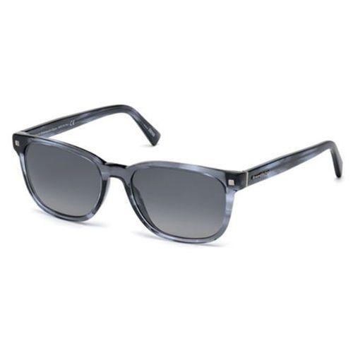 Okulary słoneczne ez0075 polarized 92d marki Ermenegildo zegna