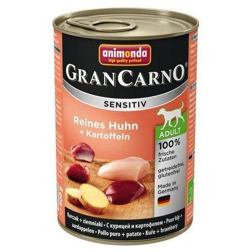 Animonda Gran Carno Sensitiv Kurczak + ziemniaki 400g