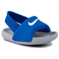 Sandały - kawa slide (td) bv1094 400 hyper cobalt/white/wolf grey marki Nike