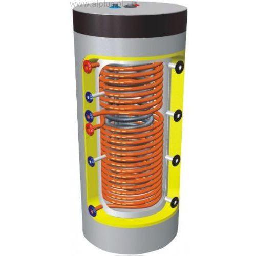 ZBIORNIK higieniczny SPIRO LEMET 500L/5 2 WĘŻOWNICE 2W bufor