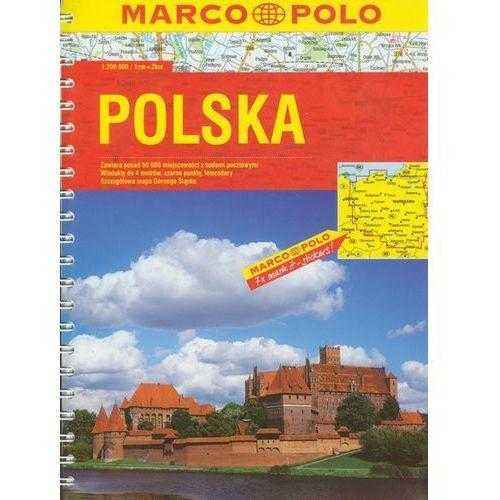 POLSKA. ATLAS SAMOCHODOWY 1 : 200 000, oprawa broszurowa