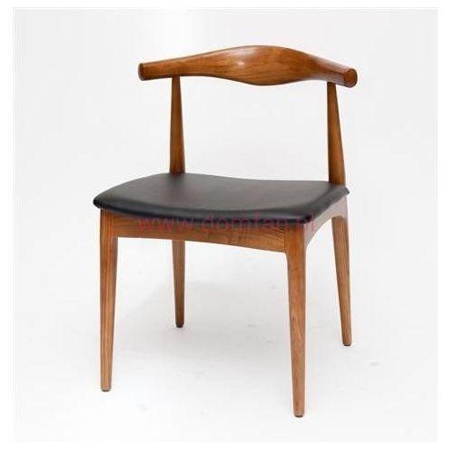 D2.design Krzesło codo inspirowane elbow chair - brązowy jasny