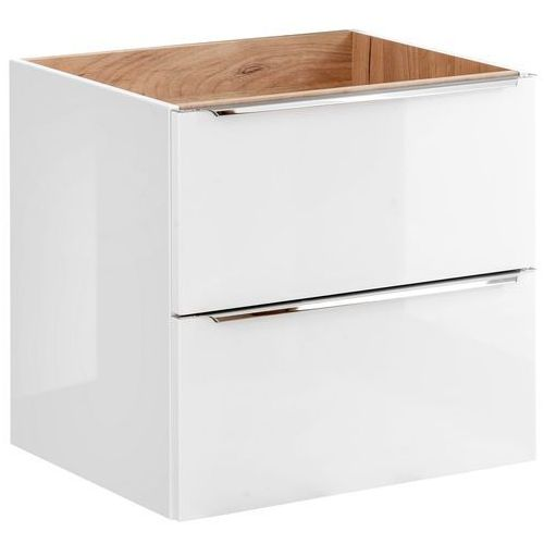 Szafka pod umywalkę 60 cm CAPRI WHITE 820B, kolor biały
