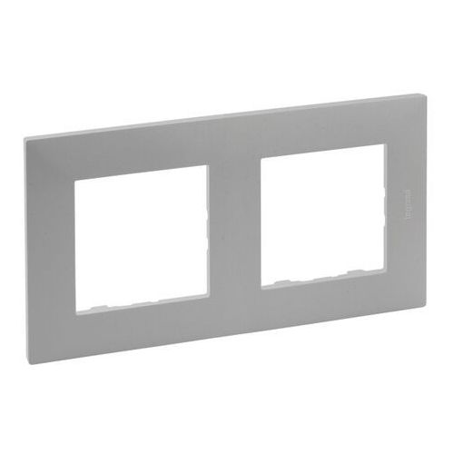 Ramka podwójna Legrand Niloe Step aluminium (3414971838819)