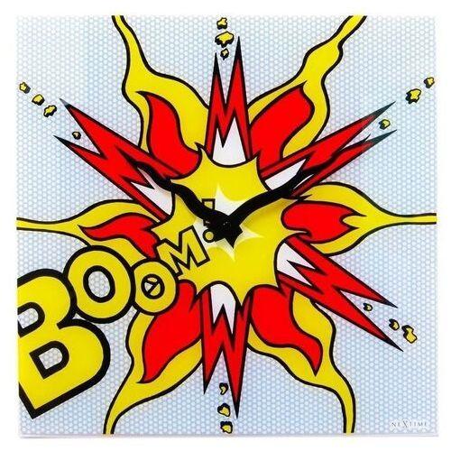 Nextime Zegar ścienny boom (8173)