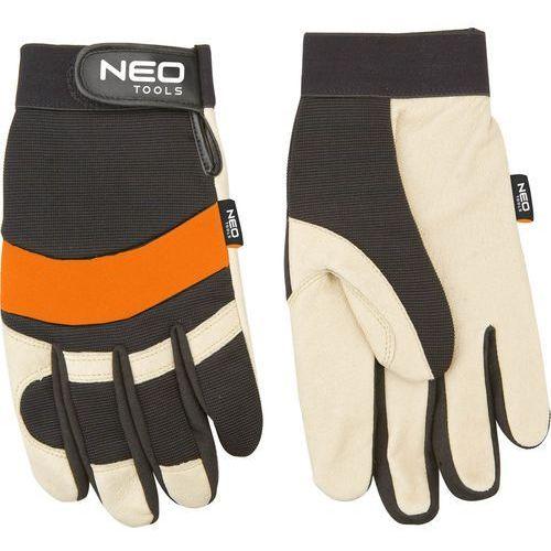 Rękawice robocze 97-606 biało-czarny (rozmiar xl) + zamów z dostawą w poniedziałek! marki Neo