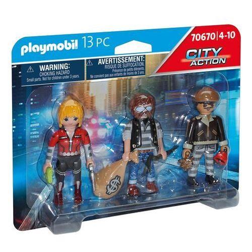 Playmobil City Action: Zestaw figurek - Złodzieje (70670)