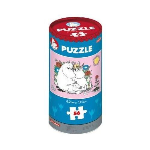 Puzzle w puszczce TACTIC Moomin puzzle in a house 56 elementów (6416739409979)