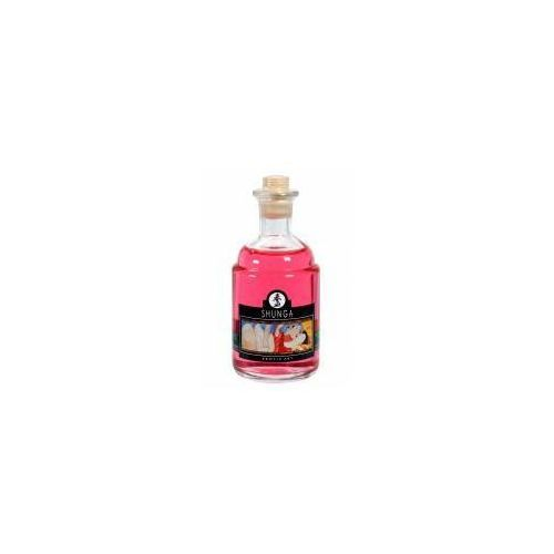 Rozgrzewający olejek do masażu Shunga Strawberry Wine 100 ml, 8400800