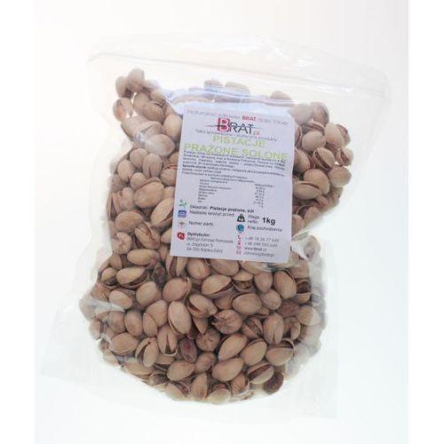 Pistacje Prażone solone 1kg - wysoka jakość - BRAT.PL - produkt z kategorii- Bakalie, orzechy, wiórki