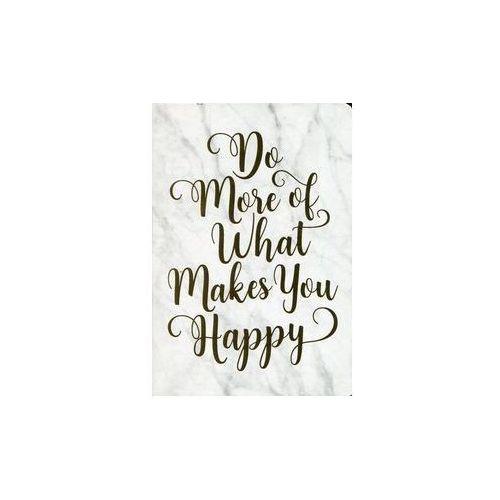 Notatnik mini Rób co cię uszczęśliwia (9781441324481)