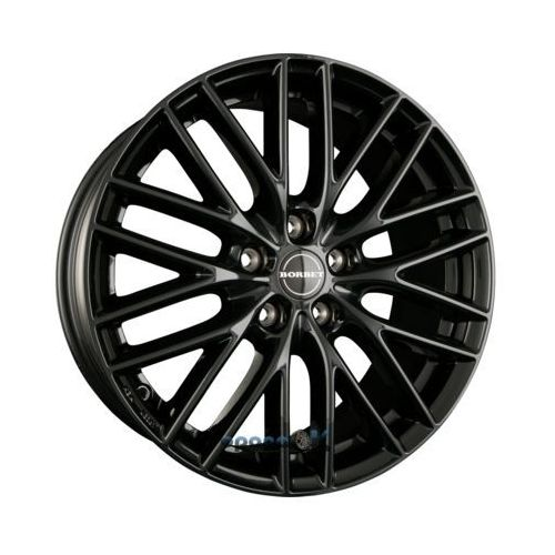 bs5 black glossy einteilig 8.00 x 18 et 40 marki Borbet