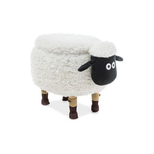 Pufa Zwierzak - Signal - Owieczka Oliwia II z pojemnikiem - biały