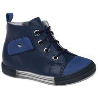 Kornecki Trzewiki nieocieplane buty 3885 skórzane