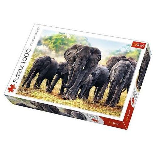 Puzzle 1000 Afrykańskie słonie TREFL (5900511104424)