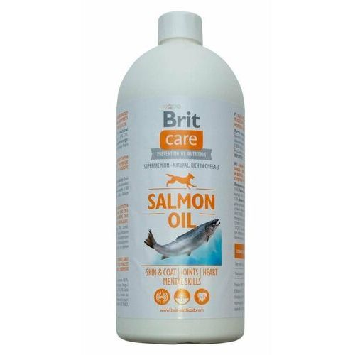 care salmon oil (100% olej z łososia) 1000ml marki Brit