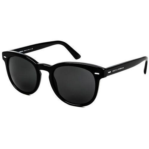 Okulary słoneczne dg4254 gentleman 501/87 marki Dolce & gabbana
