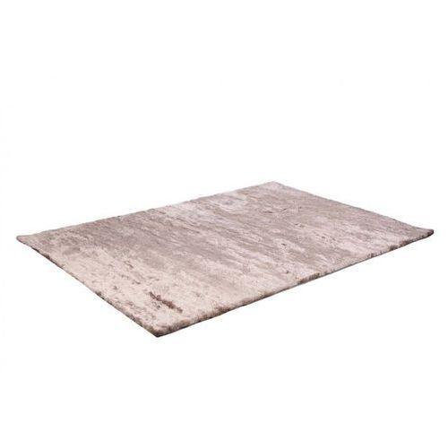 Dywan shaggy DOLCE szarobrązowy z beżowym połyskiem - poliester - 140 * 200 cm