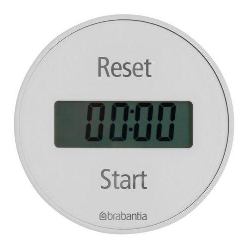 Minutnik magnetyczny Brabantia biały, 103681
